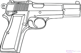 Free Coloring Pages Guns Nerf Gun Coloring Pages Gun Coloring Page