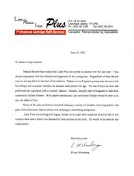 Laser Ribbon Inkjet Plus Reference Letter 2002 06 24