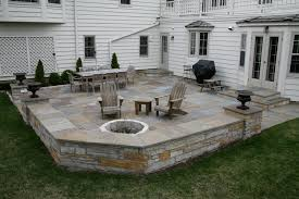 patio designs. All-Purpose Backyard Patio \u0026 Sitting Wall Designs
