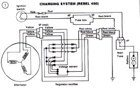 honda cb400 and cb450 wiring diagram and electrical schematics png honda motorcycle alternator wiring honda auto wiring diagram 300 x 188