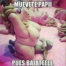 muevete papi... | Memes de rana Rene y Peggy | Pinterest via Relatably.com