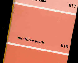 peach paint colorsWhats the next MUST HAVE color