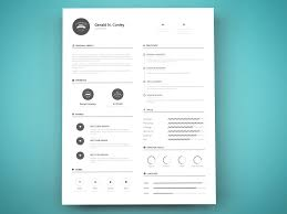 Best Resume Design 100 Beautiful Free Resume Templates 100 DoveThemes 63