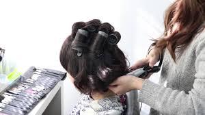 Hataori着物に似合うゆるふわボリュームのショートヘアスタイル