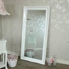 white floor mirror. Large Ornate White Gloss Wall/Floor Mirror. \u003e Floor Mirror A