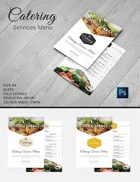 Catering Menu Templates Free Catering Menu Template 30 Free Psd Eps Documents Download Omaira