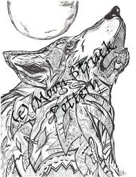 Wolf Coloring Pages For Adults New Cool Best Awesome Klubfogyas