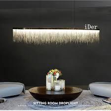 designer pendant lighting. postmodern designer pendant lights nordic tassel restaurant luxury hotel engineering chain living room art hanging lighting s