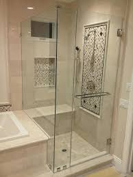 shower glass panel cost interior shower doors glass shower wall panel s
