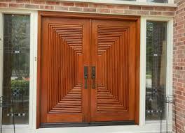 Wood Exterior Door Trend With Picture Of Wood Exterior Decoration In ...