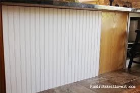 Kitchen Cabinets Beadboard Diy Adding Beadboard To Kitchen Cabinets Cliff Kitchen