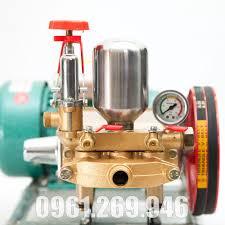 Máy rửa xe dây đai đầu xịt 1Hp motor 1.5kw tặng dây phun 10m, béc phun, Giá  tháng 3/2021