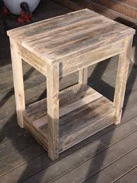 diy furniture made from pallets. diy pallet side table/nightstand diy furniture made from pallets pinterest