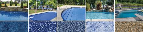 Dark pool water Glass Bead Since It Is Much More Dense And Lacks Air Bubbles In Its Structure The Real Turquoise Color Of Water Can Be Revealed Tara Liners Water Color Of Vinyl Pool Liners Tara Liners Tara Liners Blog