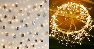 lighting diy. 40 Cool DIY Ideas With String Lights Lighting Diy E