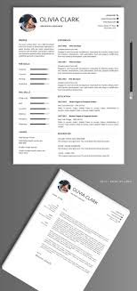 Simple Clean Resumecv Templates With Cover Letter