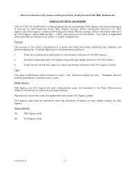 100 Letter Agreement Template Child Support Agreement