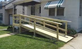 building a wooden wheelchair ramp chairs gallery image and wallpaper