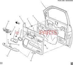 esaabparts saab 9 7x car body internal parts door parts front door trim side front penger