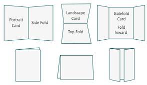 Half Fold Card Template A4 Card Size Ohye Mcpgroup Co