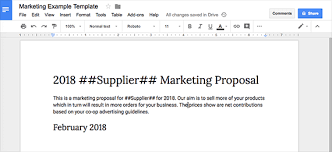 Google Doc Format Create Google Docs From A Google Sheet Practical Ecommerce