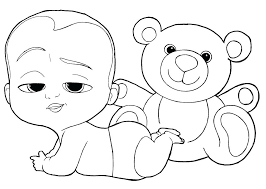 Baby Coloring Pages Zupa Miljevcicom