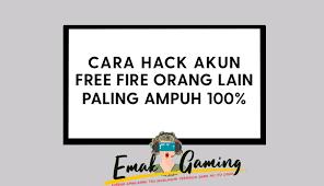 Free fire adalah salah satu game battle royal mobile yang cukup populer di indonesia. Cara Hack Akun Ff Orang Lain Paling Ampuh Work 100