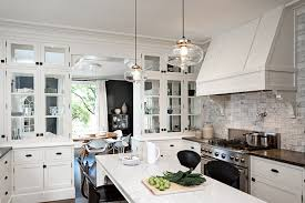 seeded glass pendant lights for kitchen ideas