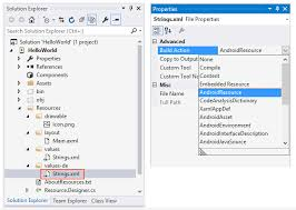 Android Resource Basics - Xamarin   Microsoft Docs