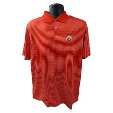 item b1 69 ohio state nike victory striped golf polo