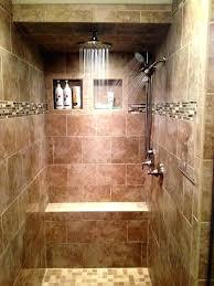 add a second shower head add a second shower head walk in tile shower three shower add a second shower head