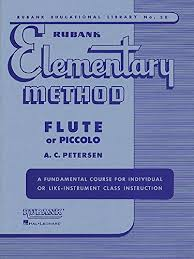 Flute Chart Pdf Pdf Rubank Elementary Method Flute Or Piccolo With Charts