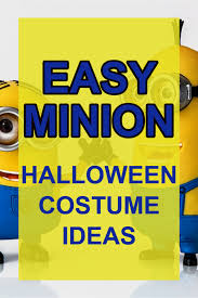 diy minions hallowen costume