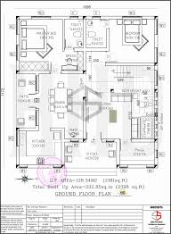 floor plan and elevation of 2398 sq ft contemporary villa for kerala building plans elevations