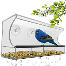nature s hangout window bird feeder with removable tray found here this is a fantastic mother s day gift idea for backyard bird watchers