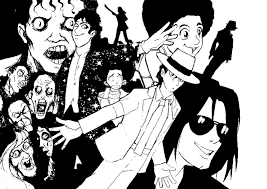 Small Picture Coloring page Michael Jackson 6