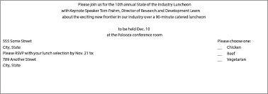 Formal Business Invitation Best Business Invitation Wording Examples