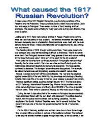 essay on russian revolution what caused therussian revolution gcse  what caused the russian revolution gcse history marked page