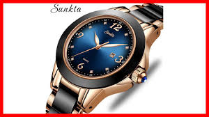Aliexpress for Woman - <b>SUNKTA Fashion Women</b> Watches Rose ...