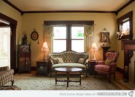 House Interior Victorian Style Living Room