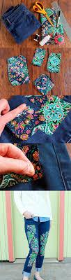 clothing tutorials diy designed jeans