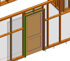 Correct Way of Inserting Pocket Doors in Wooden Frame Walls in Revit