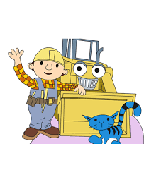 Small Picture Bob The Builder 8 Coloring Pages for Kids to Color and Print