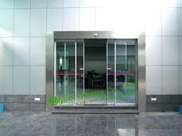 sliding office door. Glass Office Doors Commercial Automatic Sliding Door For With Sensor In .