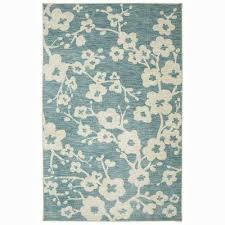 naples burbank blossom teal 5 ft x 8 ft indoor area rug