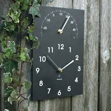 outside garden wall clocks full image for mesmerizing garden wall clock thermometer indoor outdoor wall clock outside garden wall