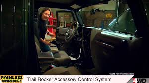 painless wiring trail rocker accessory control system painless wiring trail rocker accessory control system