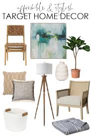 a collection of 25 affordable and stylish home decor from target so many great