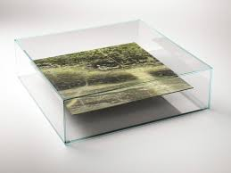 square marble and glass coffee table at