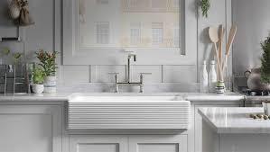 farmhouse kitchen sinks by kohler